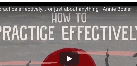 How to practice effectively...for just about anything