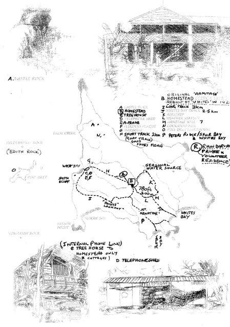 Mud Map Walking Tracks