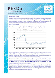 Perda Winter 2014 UK issue newsletter