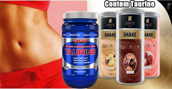 Taurina Suplementos Para Emagrecer e Definir o Corpo
