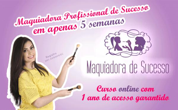 Curso de maquiagem online com certificado..