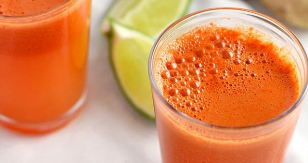 suco-cenoura-limao Sucos para Emagrecer
