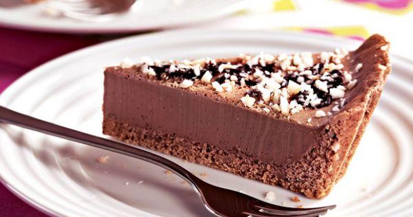 Receitas Fitness fáceis torta-de-chocolate