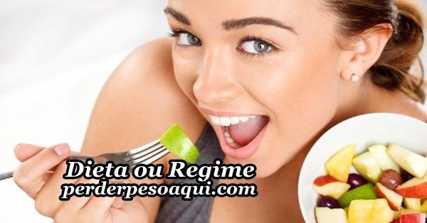 dieta e regime