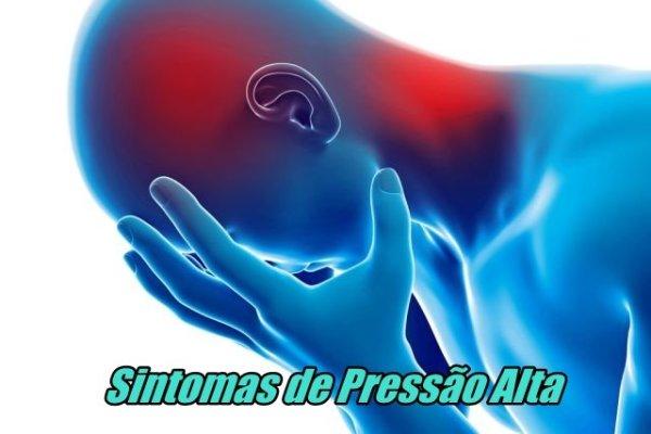 Sintomas de Pressão Alta