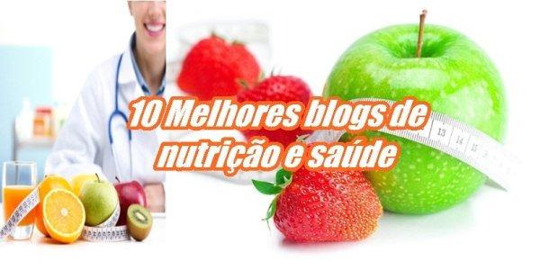 10 Melhores blogs de nutrição e saúde