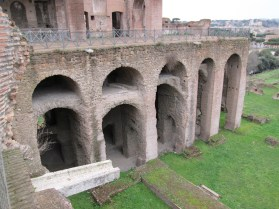 The Romans really liked their arches, which is part of the reason why their buildings lasted so long.