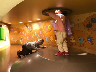 Looking Up at Anpanman Children's Museum in Kobe