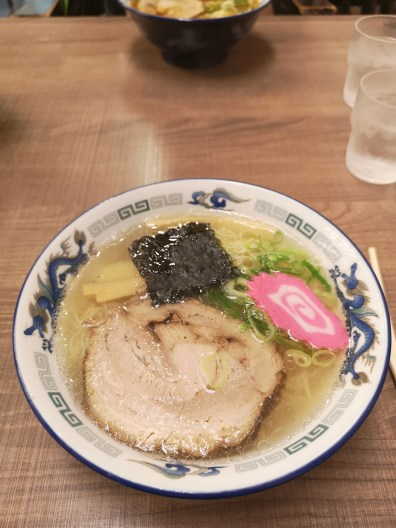 Salt broth ramen