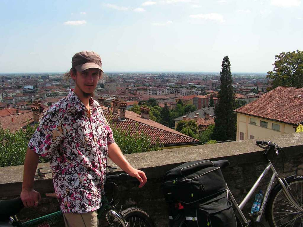 Rowerami w Bergamo