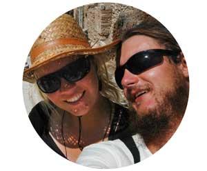Daria i Wojtek selfie