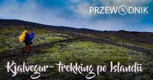 Strona tytułowa przewodnika - Kjalvegur - trekkink po Islandii
