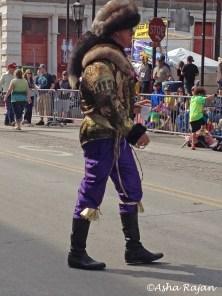 Davy Crockett? Daniel Boone?