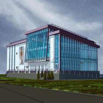 Будівництво спорткомплексу біля м. Дніпро