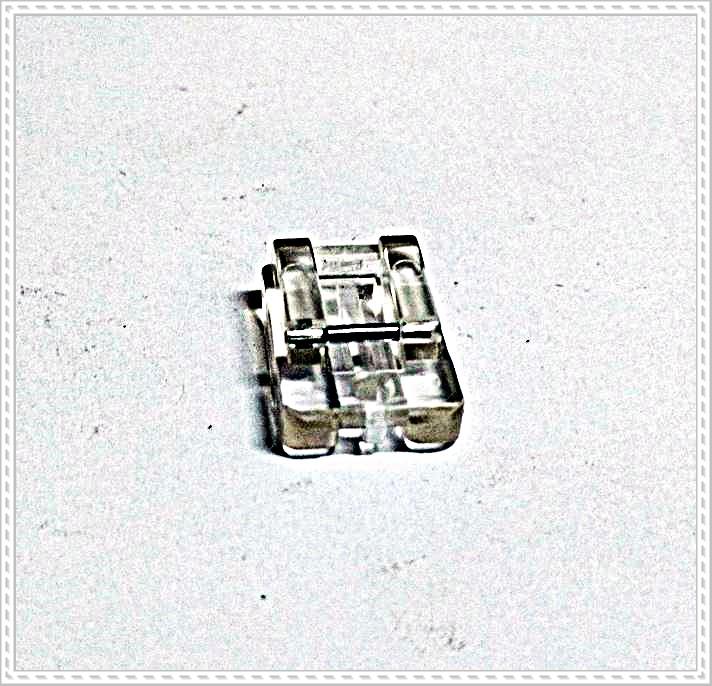 Sapata ziper invisível acrílico – Pereira Point das Máquinas