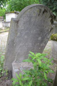 D22 Père-Lachaise 1814 réservoir tombe