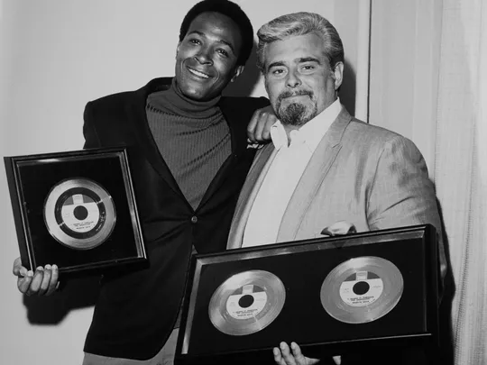 Motown Founder Berry Gordy with Head of Sales and eventual President, Barney Ales (Photo: Dan Gottesman