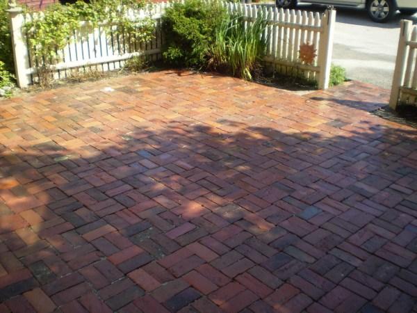 brick patio designs Reclaimed-Brick Patio, Yarmouth, Maine | Perennial Stone