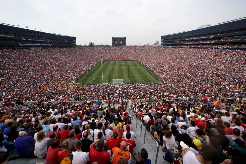 Real Madrid Manchester United Soccer