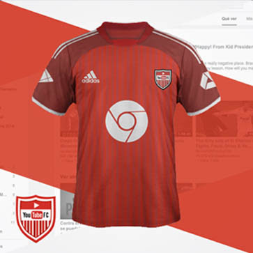 Youtube-FC-Football-Kit
