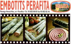 Embotits Perafita, promo