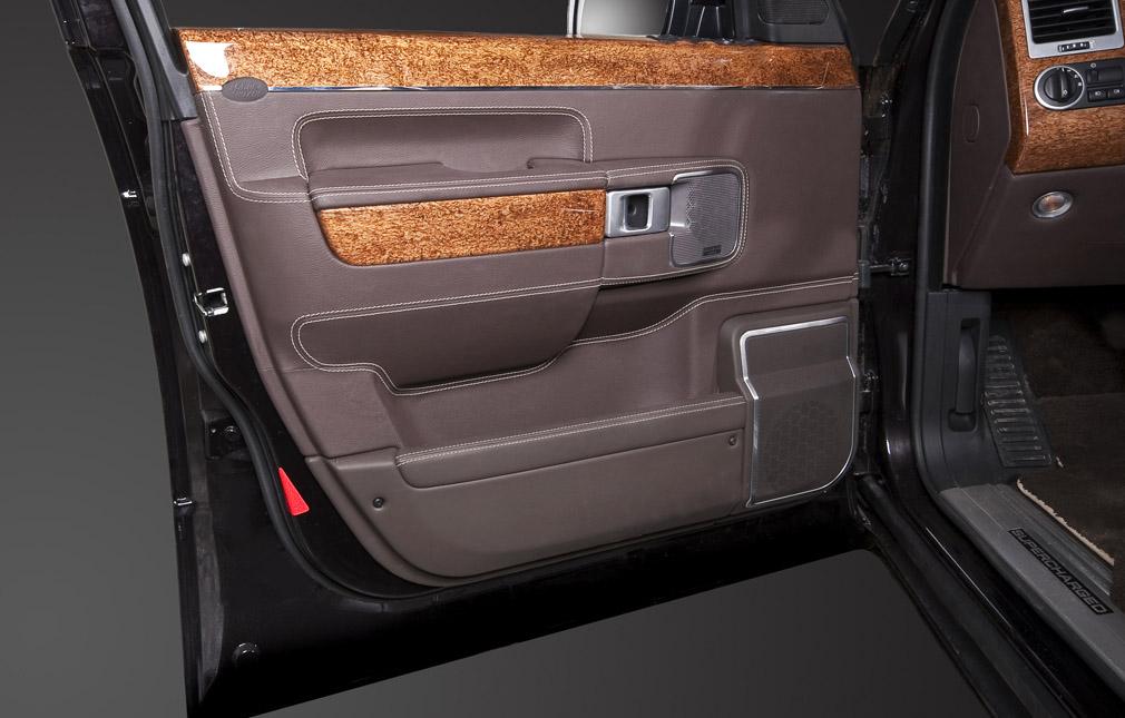 Перетяжка дверей Land Rover
