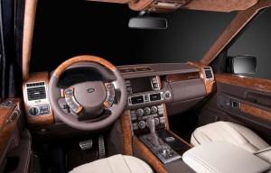 Перешив салона Land Rover