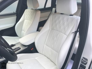 BMW x4 перетяжка салона
