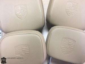 Штамп на подголосках Porsche