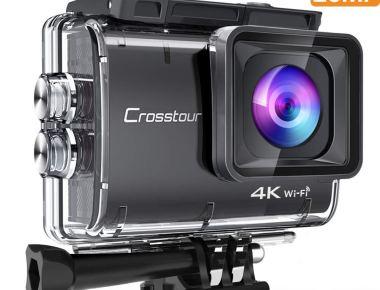 Cámara deportiva Crosstour 4K CT9500, 20 Mp – ¿una alternativa real a GoPro?