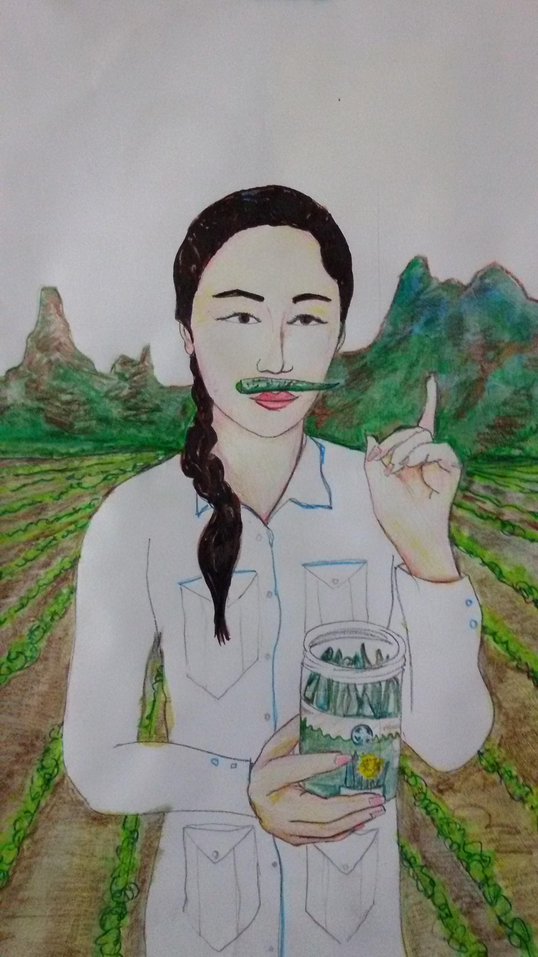 Jorge Amp Bella Qingdao Girls Advertising Posters
