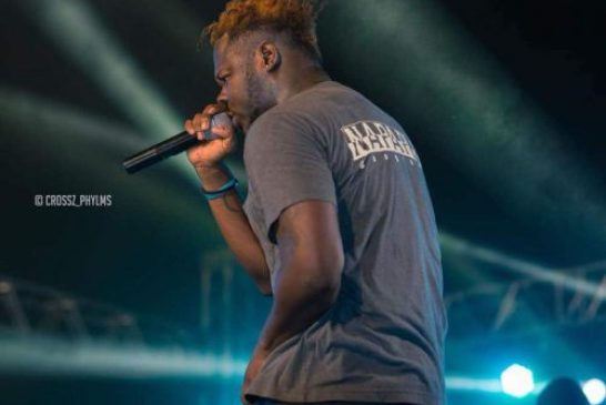 """Medikal Jams To """"Eish"""" In Studio, Hints On Remix With DopeNation"""