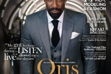 "Acheampong Magazine Releases It's ""2020 ISSUE"" As Hollywood Actor Oris Erhuero Stars The Front Page"