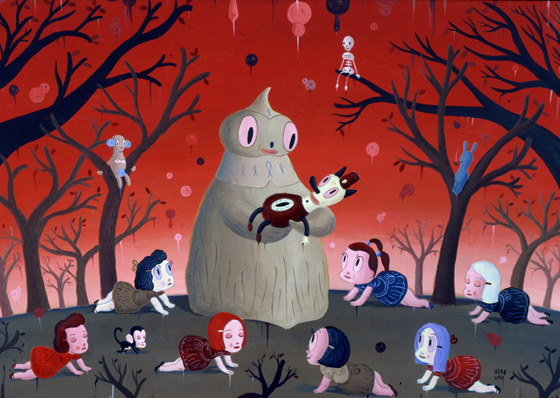 Gary-Baseman-Pilgrimage-to-the-one-they-call-Toby-2005