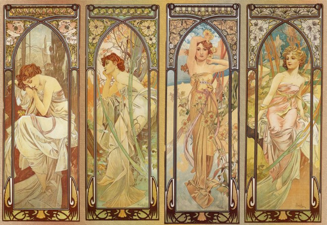 Mucha - Times of Day