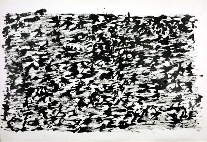 Untitled Chinese Ink Drawing 1961 Henri Michaux 1899-1984 Purchased 1963 http://www.tate.org.uk/art/work/T00577