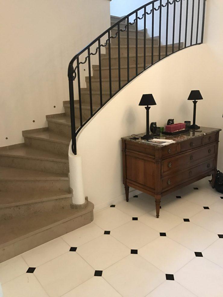 Escalier en Pierre & Carrelage 2 - PEREZ Carrelages & Marbrerie - Augny 57685