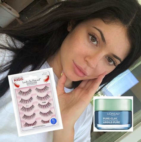 Kylie Jenner Favorite drugstore beauty products