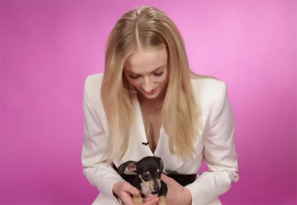 Sophie Turner Puppy Interview