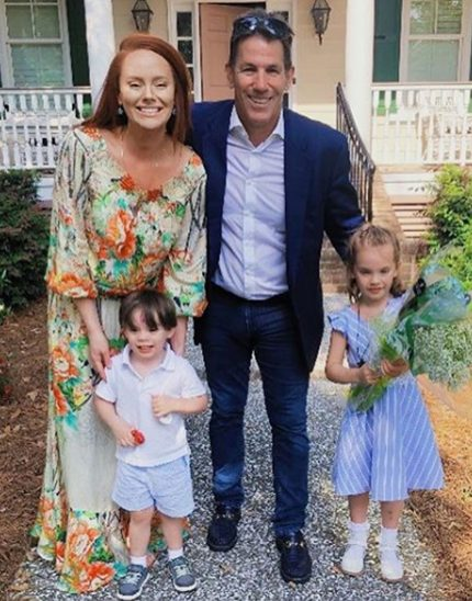 Kathryn Dennis and Thomas Ravenel with their kids.