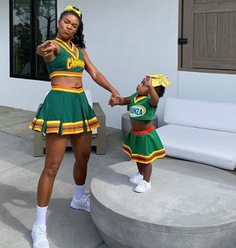 Gabrielle Union and daughter Kaavia go as 'Bring It On' characters for Halloween