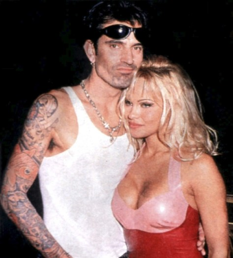 Tommy Lee and Pamela Anderson sex tape