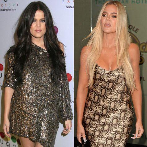Khloe Kardashian decade challenge