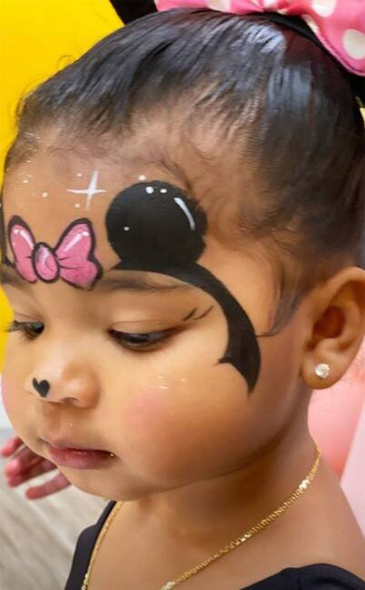Chicago West birthday party Minnie Mouse highlights