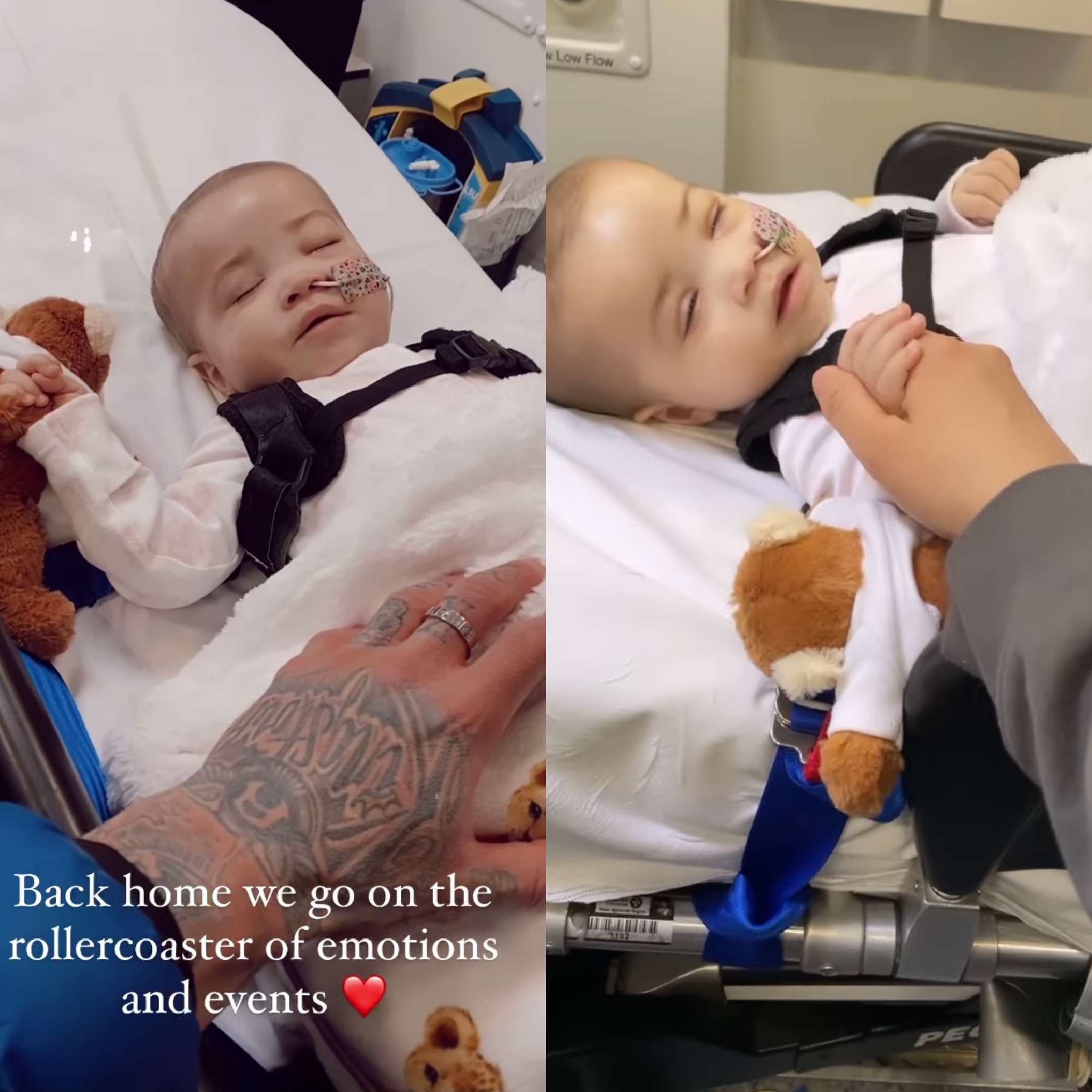 Ashley Cain's Daughter Rushed To Hospital