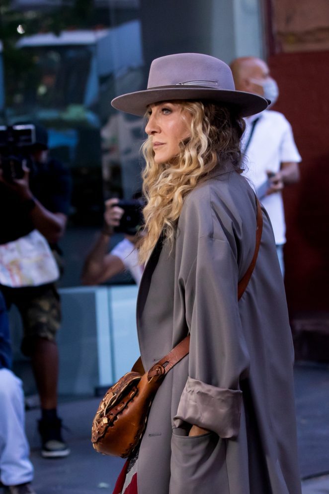 Sarah Jessica Parker Is Back On Set Following Wille Garson's 'Unbearable' Death
