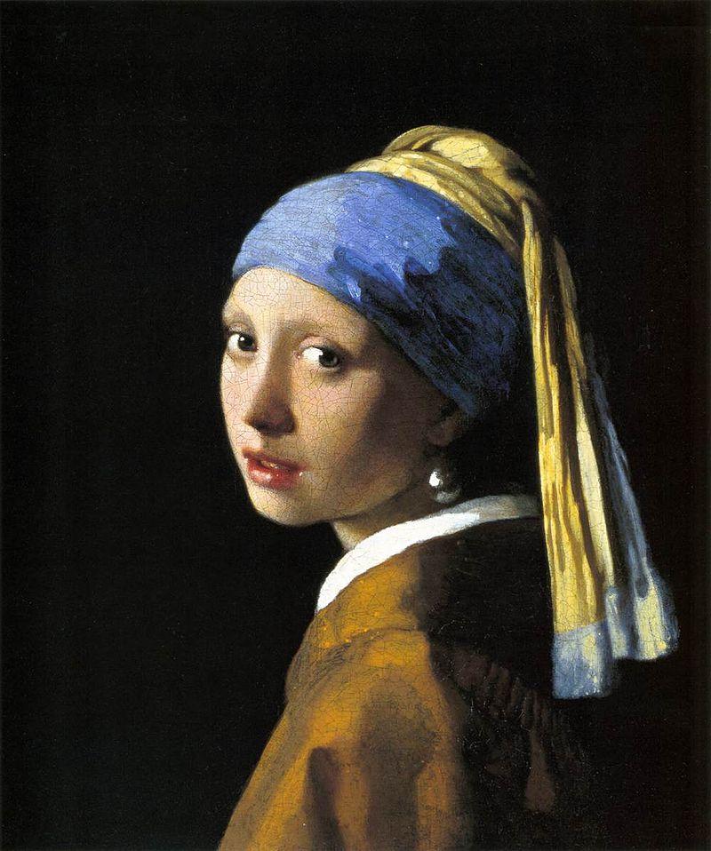 La Jóven de la Perla de Vermeer, también conocida como La Mona Lisa Holandesa
