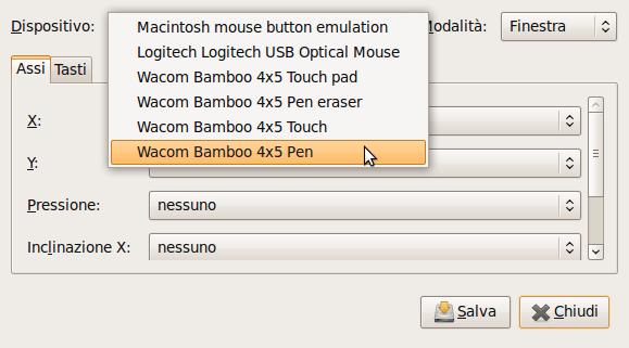Wacom bamboo pen e Ubuntu (3/6)