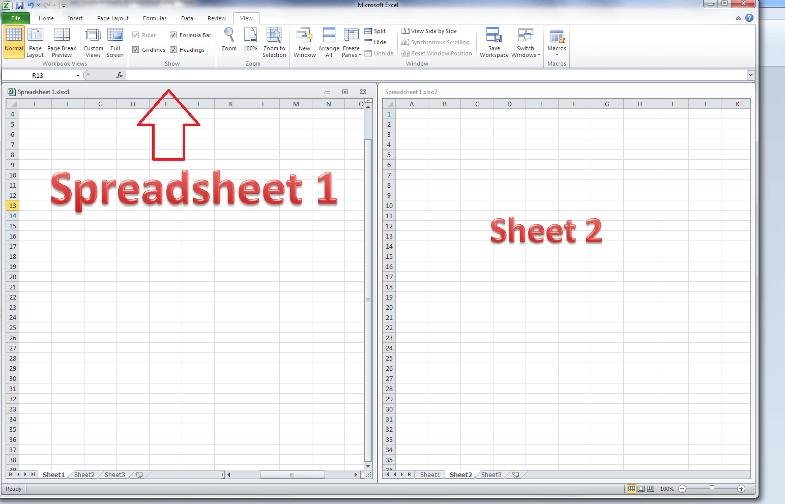Excel Spreadsheet Password
