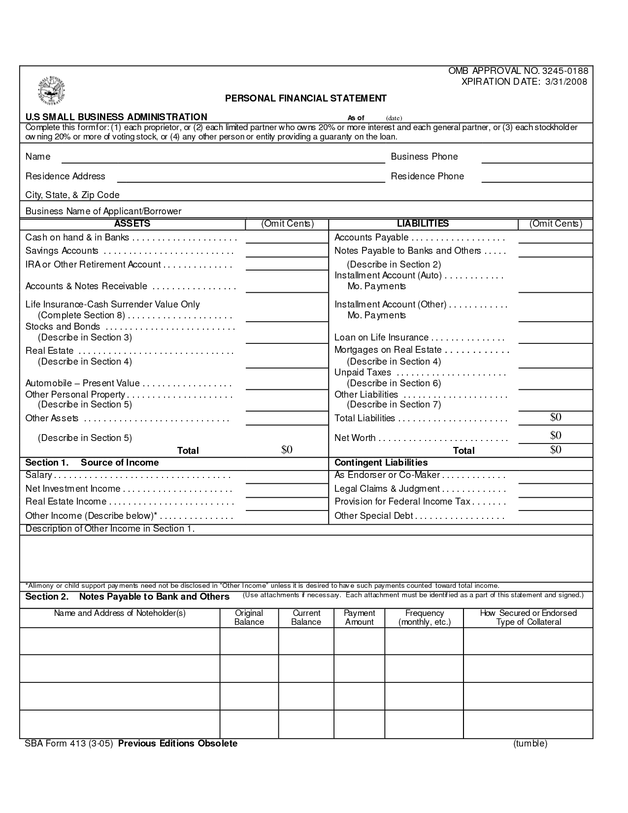Personal Assets And Liabilities Worksheet Excel Spreadsheets